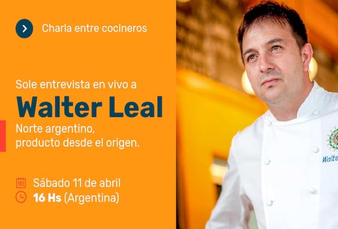 Entrevista a Walter Leal