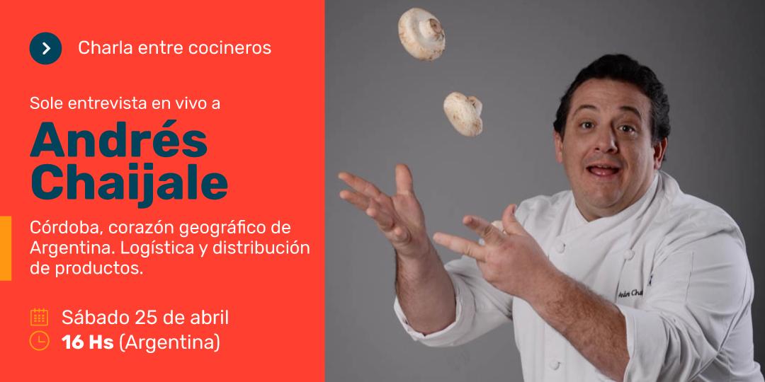Entrevista a Andrés Chaijale