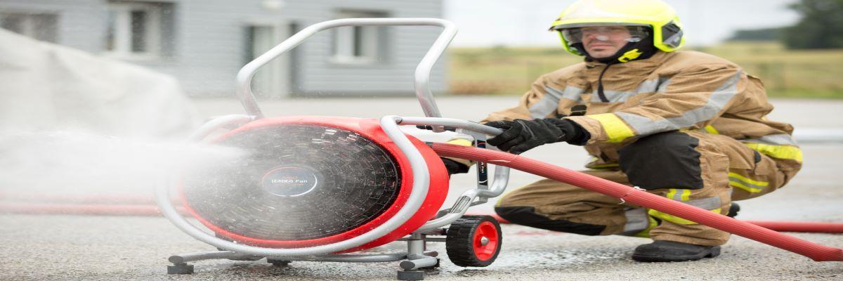 """Octubre en la Academia Virtual OBA: """"Ventilación Operacional en incendios"""""""