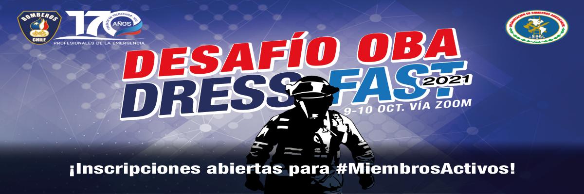 El Desafío OBA Dress Fast 2021 premiará al equipo más rápido de América Latina y el Caribe