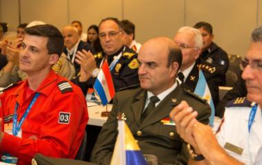 Jefes de bomberos de OBA se reúnen virtualmente para compartir aprendizajes y buenas prácticas de intervenciones en contexto de COVID-19