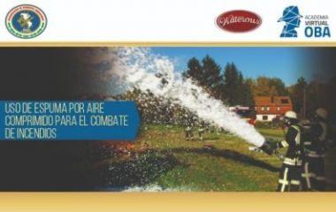 """""""Uso de espuma por aire comprimido para el combate de incendios"""""""