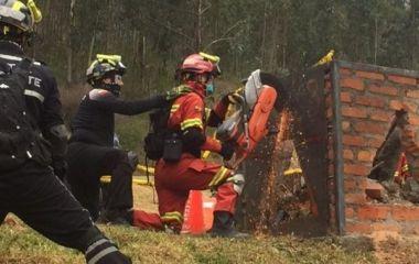 """Abril: Curso OBA """"Búsqueda y Rescate en estructuras colapsadas"""""""