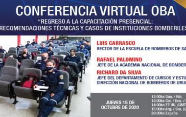Conferencia Virtual para Miembros Activos sobre recomendaciones técnicas para capacitación presencial en contexto de COVID-19