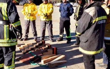 Los riesgos del trabajo bomberil