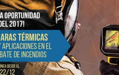"""Nueva edición del curso """"Cámaras térmicas: Usos y aplicaciones en el combate de incendios"""" en la Academia Virtual OBA"""