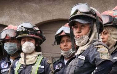 Primer Congreso Nacional de damas bomberas municipales departamentales en Guatemala
