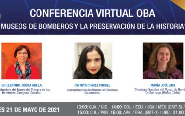 """Conferencia Virtual: """"Museos de Bomberos y la preservación de la historia"""""""