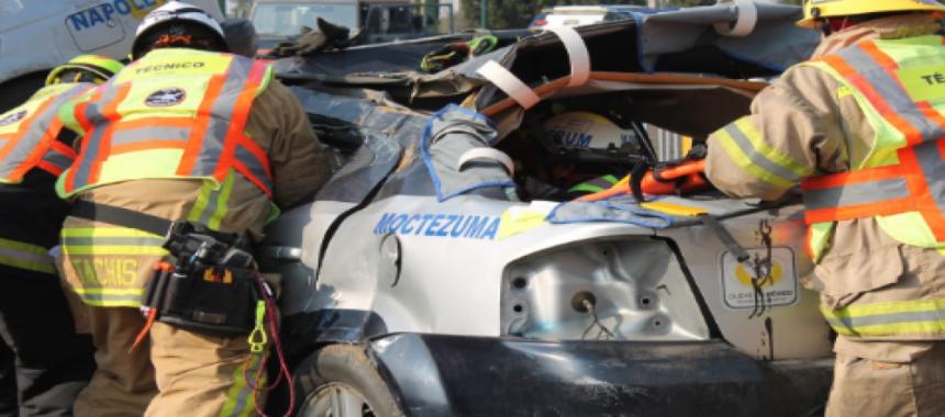 """Noviembre en la Academia Virtual OBA: """"Rescate Vehicular Básico, Nivel I"""""""