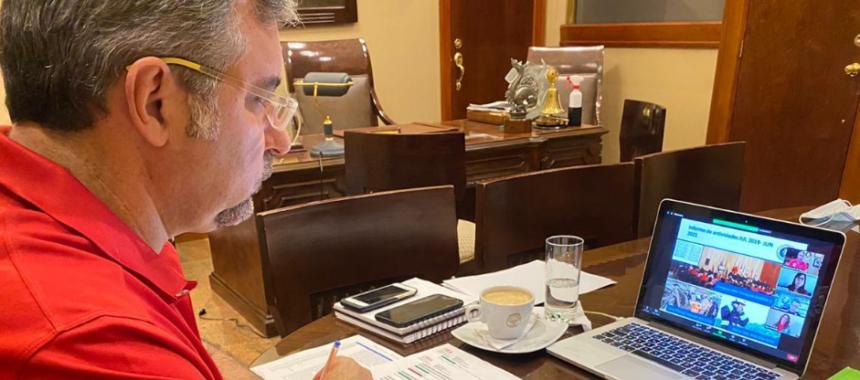 Cnel. Martín Cucalón de Ycaza, reelegido Presidente de Organización de Bomberos Americanos (OBA)