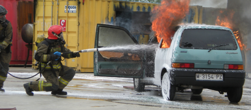 """Nuevo curso virtual en abril: """"Uso de agua en ultra alta presión para el combate de incendios"""""""